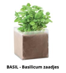 Basilicum zaadjes
